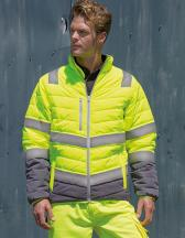 Men`s Soft Padded Safety Jacket